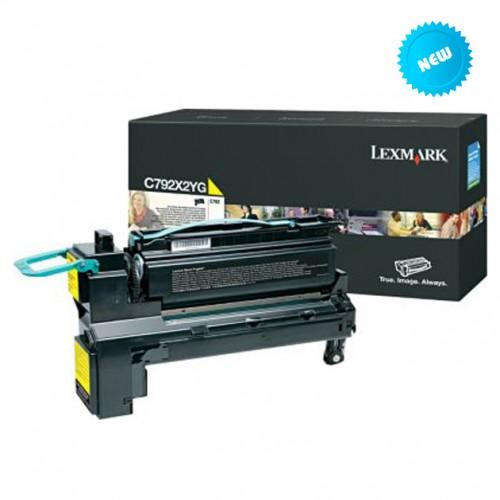 Lexmark C792X1YG (노랑)